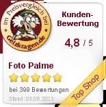 Foto Palme Online Shop im Preisvergleich bei Geizkragen.de