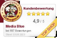 Media Blue GmbH & Co. KG im Preisvergleich bei Geizkragen.de