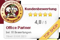 Office Partner GmbH im Preisvergleich bei Geizkragen.de