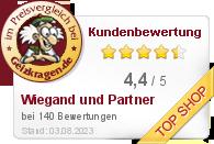 Rudolf Wiegand und Partner GmbH im Preisvergleich bei Geizkragen.de
