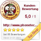 phonetech im Preisvergleich bei Geizkragen.de